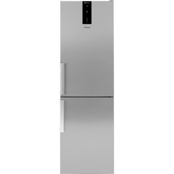 GRADED Whirlpool W7811OOXH1 70/30 Frost Free Fridge Freezer - Stainless Steel - A+ Rated (5703)