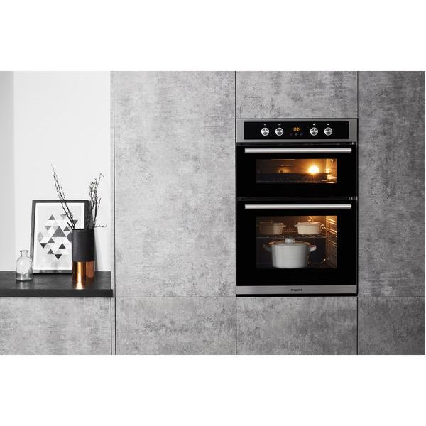 GRADED HOTPOINT CLASS 2 DD2 544 C IX Built In Oven - Stainless steel