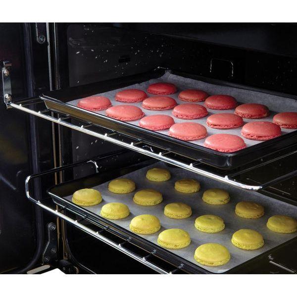 RANGEMASTER Kitchener 90FSD Dual Fuel Range Cooker - Cream & Chrome